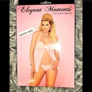 "Elegant Moments ""Queen Size"" pink Nighty New"
